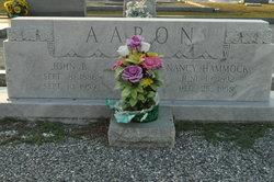 Nancy <i>Hammock</i> Aaron