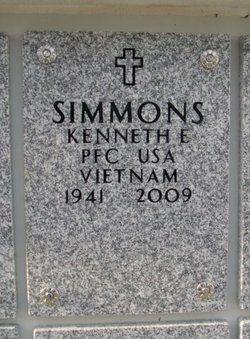 Kenneth E Simmons