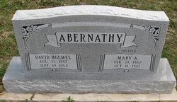 Mary Alonzo Lonnie <i>Bishop</i> Abernathy