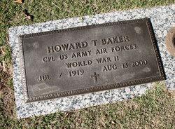 Howard T Baker