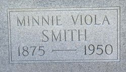 Minnie Viola <i>Smith</i> Eades