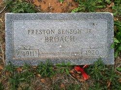 Preston Benson Broach, Jr