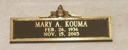 Mary A <i>Henehan</i> Kouma