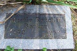 Myrtle <i>Ratcliff</i> Barker