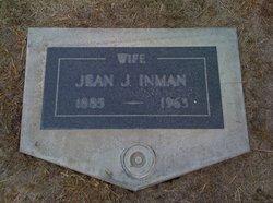 Eliza Jean <i>Johnson</i> Inman