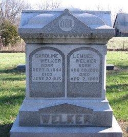 Caroline E <i>Potter</i> Welker