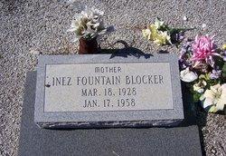 Inez <i>Fountain</i> Blocker