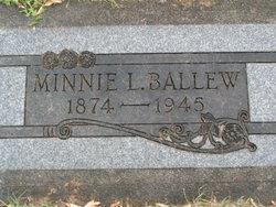 Minnie Lee <i>Belt</i> Ballew