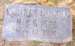 Martha E. Coleman