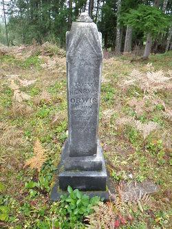 Rev Henry Gilbert Orwig