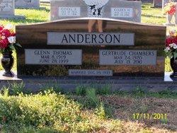 Sally Gertrude <i>Chambers</i> Anderson