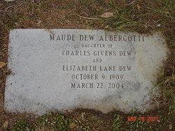 Maude Ramsey <i>Dew</i> Albergotti