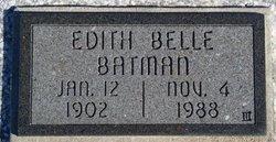 Edith Belle <i>Stubbs</i> Batman