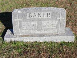 Lucy Christine <i>Hardy</i> Baker