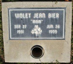Violet Jean <i>Lemasters</i> Bier