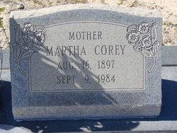 Martha <i>Corey</i> Jones