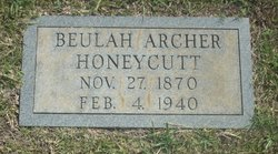 Beulah <i>Archer</i> Honeycutt