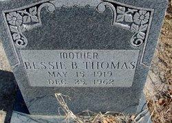 Bessie B Thomas