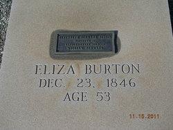 Elizabeth Eliza <i>Denmark</i> Burton