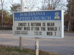 Macedonia Baptist Church Cemetery (Wolf Creek)