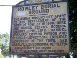 Rowley Burial Ground