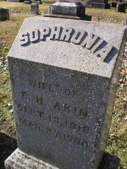 Sophronia J. <i>Merrill</i> Akin