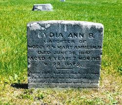 Lydia A B Amerman