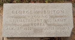 George Wilbur Bolton