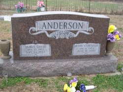 Mary Cornelia <i>Caudle</i> Anderson
