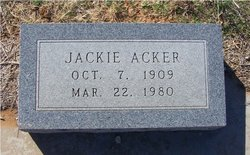 Jackie Marion Acker