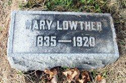 Mary E. Bertie <i>Kramer</i> Lowther