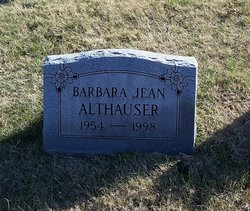 Barbara Jean <i>Rueter</i> Althauser