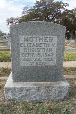 Elizabeth Victoria <i>Green</i> Christian