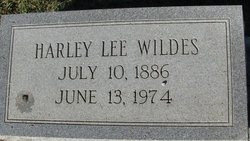 Harley Lee Wildes
