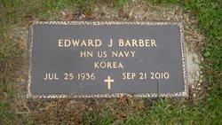 Edward J Barber