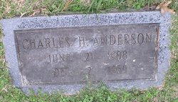Charles H Anderson