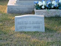Bertha H Baulig