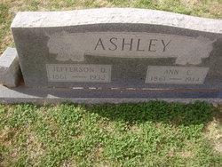 Annie Elizabeth <i>Brunson</i> Ashley
