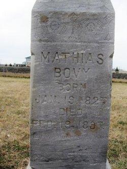 Mathias Bovy, Sr