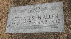 Meta <i>Nelson</i> Allen