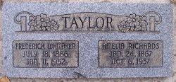 Dr Fredrick Whitaker Taylor