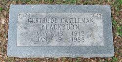 Gertrude <i>Castleman</i> Blackburn