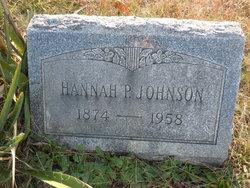 Hannah P. Johnson