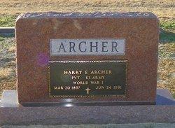 Harry Earl Archer