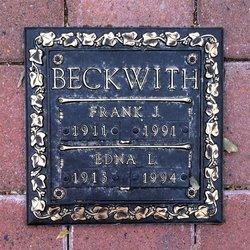 Edna L. <i>Garlick</i> Beckwith