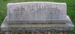 Hamil Stanhope Adams
