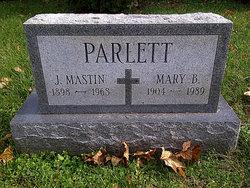 Joseph Mastin Parlett, Sr