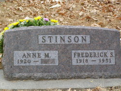 Anne Marie <i>Brammann</i> Stinson