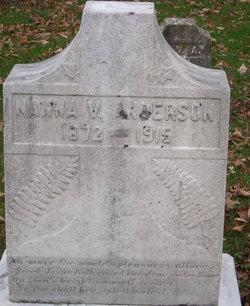 Nanna Virginia Anderson