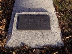 Mary Edna <i>Roades</i> Snapp